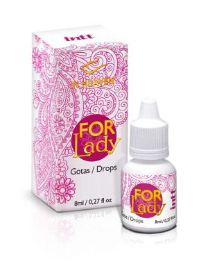 Gel Excitante Feminino Vagina For Lady Intt 8ml